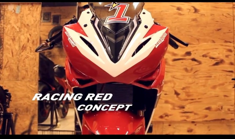 All New CBR 150 R 2016 Facelift Red Racing Concept