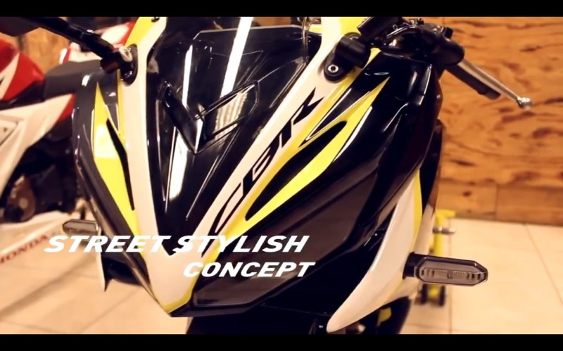 All New CBR 150 R 2016 Facelift Street Stylish Concept