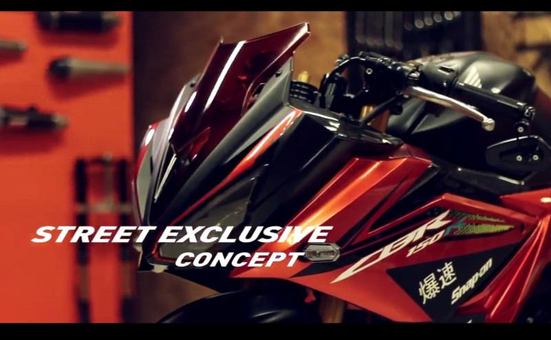 All New CBR 150 R 2016 facelift Exclusive Concept