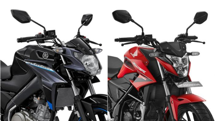 Beda Yamaha V-ixion dan Honda CB150R
