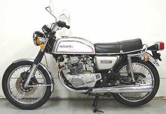 Honda CB 200 putih