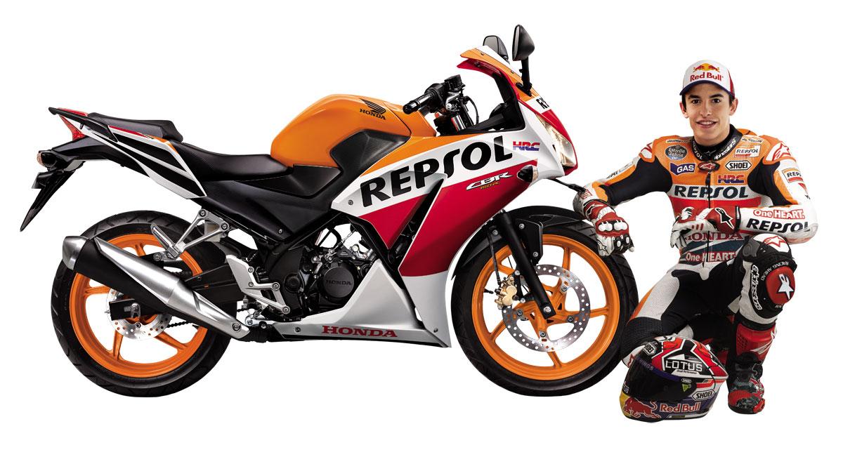 Honda CBR 150 Repsol old 2014