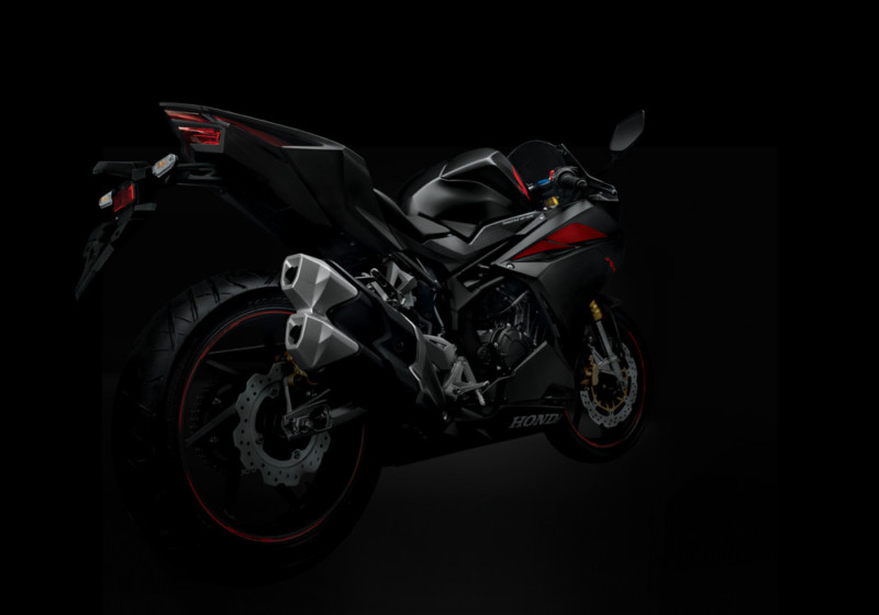 "The All New Honda CBR250RR"" Total Control"""