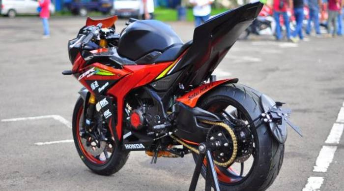 Top modifikasi cbr 150 repsol