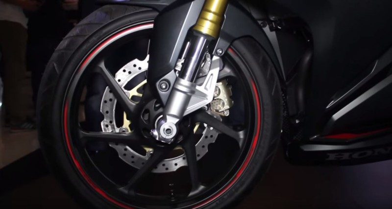 shock honda cbr 250rr upside down