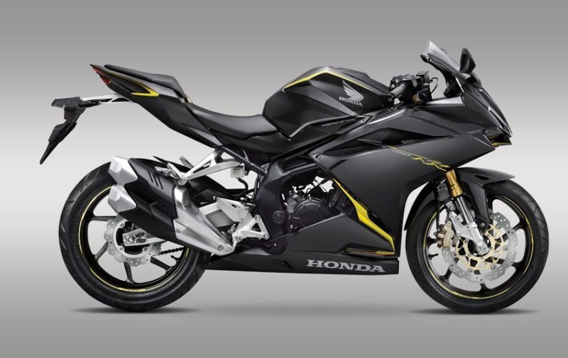 warna All new honda CBR250RR 2016 Anchor Grey Metallic
