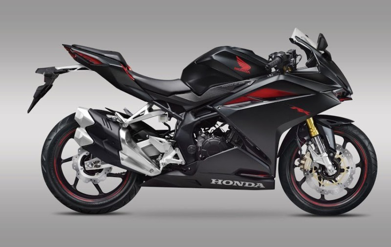 warna All new honda CBR250RR 2016 Mate Gunpowder Metallic