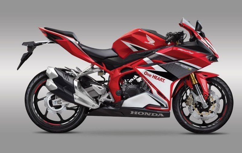 warna All new honda CBR250RR 2016 Merah Racing Red
