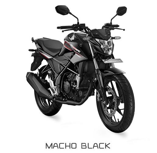 Honda CB150R StreetFire Macho Black